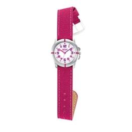 Scout Mädchen-Armbanduhr Analog Quarz Silikon 280390021 - 1