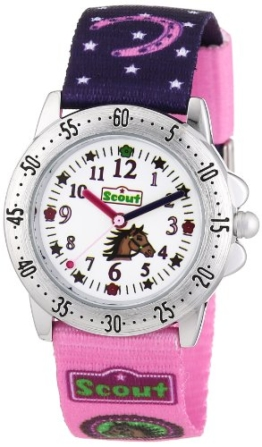 Scout Mädchen-Armbanduhr Analog Quarz Textil 280378065 - 1