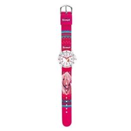 Scout Mädchen-Armbanduhr Analog Quarz Textil 280378071 - 1