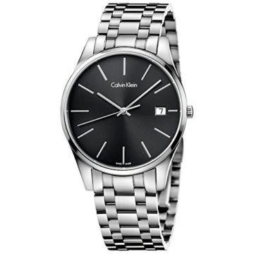 Calvin Klein Herren Analog Quarz Smart Watch Armbanduhr mit Edelstahl Armband K4N21141 - 1