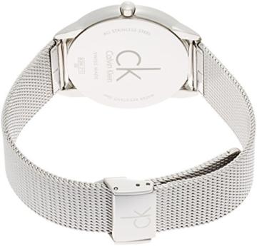 Calvin Klein Herren Analog Quarz Uhr mit Edelstahl Armband K3M2112Z - 2