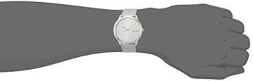 Calvin Klein Herren Analog Quarz Uhr mit Edelstahl Armband K3M2112Z - 4