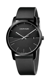 Calvin Klein Herren Analog Quarz Uhr mit Leder Armband K2G2G4C1 - 1