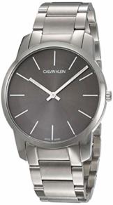 Calvin Klein Herren-Armbanduhr City Analog Quarz Edelstahl K2G21161 - 1