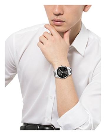 Calvin Klein Herren-Armbanduhr City Analog Quarz Edelstahl K2G21161 - 6