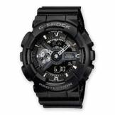 Casio G-Shock Analog-Digital Herren-Armbanduhr GA-110 blau schwarz, 20 BAR - 1