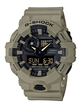 Casio G-Shock Analog-Digital Herrenarmbanduhr GA-700UC beige, 20 BAR - 1