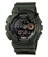 Casio G-Shock Digital Herrenarmbanduhr GD-100MS grün, 20 BAR - 1