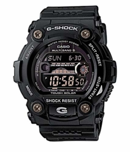 Casio G-Shock Digital Herrenarmbanduhr GWB-7900 schwarz, Solar und Funkuhr, 20 BAR - 1