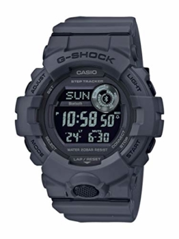CASIO Herren Digital Quarz Uhr mit Resin Armband GBD-800UC-8ER - 1