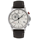 Junkers Herren Chronograph Quarz Uhr mit Leder Armband 68925 - 1