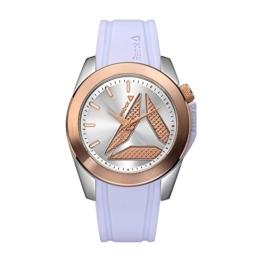 REEBOK DIANE STEEL  Damen Armbanduhr Analog Quarz Silikon RD-DIA-L2-S1IS-13 - 1