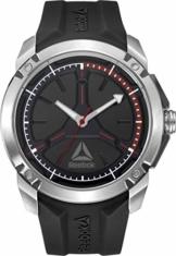 Reebok Herren Analog Quarz Uhr mit Silikon Armband RD-COM-G2-S1IB-BR - 1