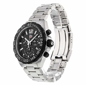 TAG Heuer Formula 1 Quartz Chronograph Stainless Steel Black Dial CAZ1010.BA0842 - 2