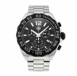 TAG Heuer Formula 1 Quartz Chronograph Stainless Steel Black Dial CAZ1010.BA0842 - 1