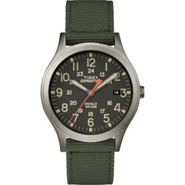 Timex Expedition Scout Armbanduhr, 36 mm grün/schwarz - 1