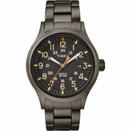 Timex Herren Analog Quarz Uhr mit Edelstahl Armband TW2R46800 - 1