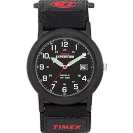 Timex Herren-Armbanduhr Analog Quarz Nylon T40011 - 1
