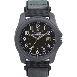 Timex Herren-Armbanduhr Expedition Herren-Armbanduhr XL Analog Nylon T425714E - 1