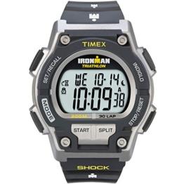 Timex Herren-Armbanduhr Schwarz Digital Kautschuk T5K195SU - 1