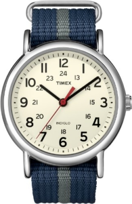 Timex Herren-Armbanduhr Special Weekender Slip Through Analog Quarz T2N654PF - 1