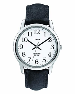 Timex Herren-Armbanduhr Weis Quarz Leder T20501D7 - 1