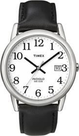 Timex Herren-Armbanduhr Weiß Analog Leder T2H281D7 - 1