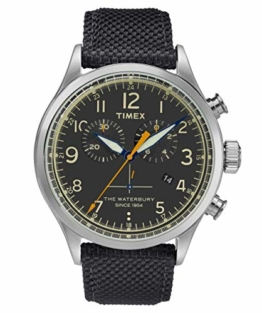 Timex Herren Chronograph Quartz Uhr Waterbury Traditional - 1
