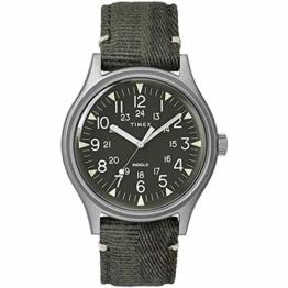 Timex TW2R68100 Grün Stahl 316 L Mann Uhr - 1