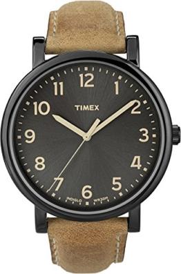 Timex Unisex-Armbanduhr Quarz Analog T2N677D7 - 1