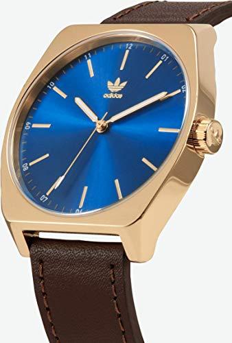 Adidas by Nixon Herren Analog Quarz Uhr mit Echtes Leder Armband Z05-2959-00 - 2