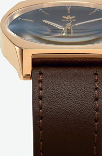 Adidas by Nixon Herren Analog Quarz Uhr mit Echtes Leder Armband Z05-2959-00 - 3