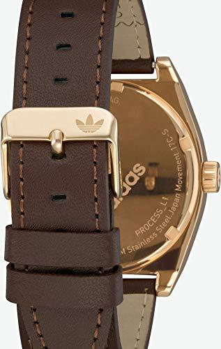 Adidas by Nixon Herren Analog Quarz Uhr mit Echtes Leder Armband Z05-2959-00 - 5