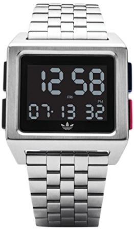 Adidas Herren Digital Uhr mit Edelstahl Armband Z01-2924-00 - 1