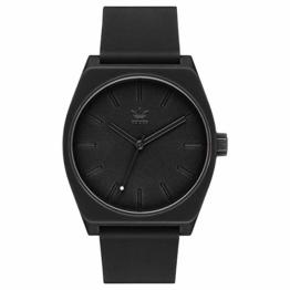 Adidas Unisex Analog Quarz Uhr mit Silikon Armband Z10-001-00 - 1