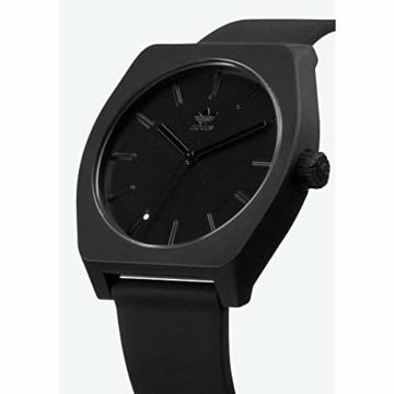Adidas Unisex Analog Quarz Uhr mit Silikon Armband Z10-001-00 - 2