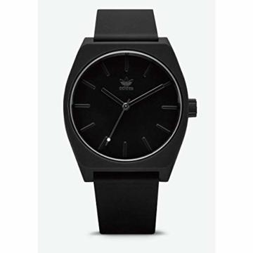 Adidas Unisex Analog Quarz Uhr mit Silikon Armband Z10-001-00 - 6