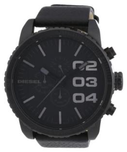 Diesel Herren Chronograph Quarz Uhr mit Leder Armband DZ4216 - 1