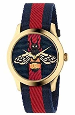 Gucci YA1264061 Rot Stahl 316 L Frau Uhr - 1