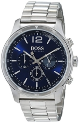 Hugo Boss Herren Chronograph Quarz Uhr mit Edelstahl Armband 1513527 - 1
