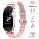 WOWGO Fitness Tracker mit Pulsmesser, Schlanke Sport Activity Tracker Watch, wasserdichte Schrittzähler Uhr mit Schlaf Monitor, Step Tracker für Kinder, Frauen und Männer - 1