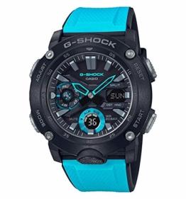 Casio G-Shock Herren Harz Uhrenarmband GA-2000-1A2ER - 1