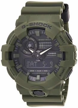 Casio G-Shock Herren Harz Uhrenarmband GA-700UC-3AER - 1