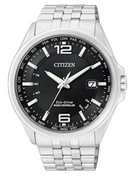 Citizen Herren Analog Quarz Uhr mit Edelstahl Armband CB0010-88E - 1