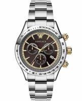 Versace Herren Armbanduhr Chrono Classic 44 D/BRW B/SS V304 VEV7004 19 - 1