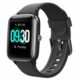 Willful Smartwatch,1.3 Zoll Touch-Farbdisplay Fitness Armbanduhr mit Pulsuhr Fitness Tracker IP68 Wasserdicht Sportuhr Smart Watch mit Schrittzähler,Schlafmonitor,Stoppuhr für Damen Herren Kinder - 1