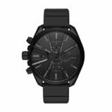 Diesel Herren Chronograph Quarz Uhr mit Silikon Armband DZ4507 - 1