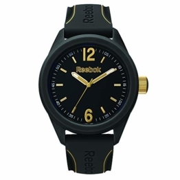 REEBOK Herren Analog Quarz Uhr mit Silikon Armband RF-SDS-G2-PBIB-B3 - 1
