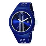 Symbol Men'Reebok Herren Quarzuhr mit blauem Zifferblatt Analog-Anzeige und blauem Silikon Strap-IRU RC-G3-PLIL, LW - 1