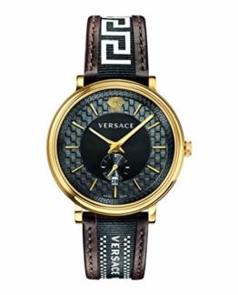 Versace VEBQ01619 V Circle Herrenuhr 42mm 5ATM - 1
